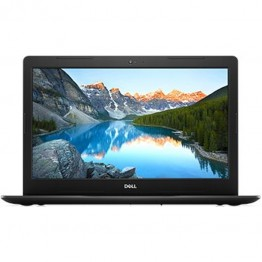 Laptop Dell Inspiron 3580, 15.6 Inch, Intel Core I5-8265U, 8 GB DDR4, 256 GB SSD, AMD Radeon 520 2 GB GDDR5, Linux, Negru